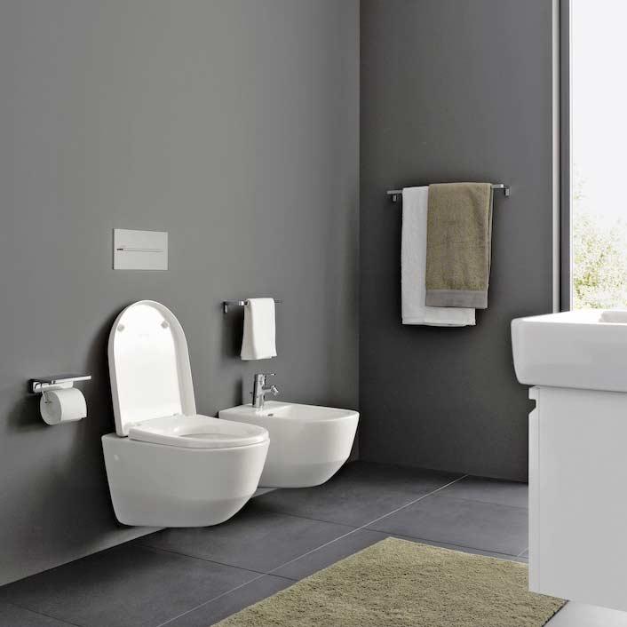 Laufen Pro 0P45 11 Weiss WC and Bidet