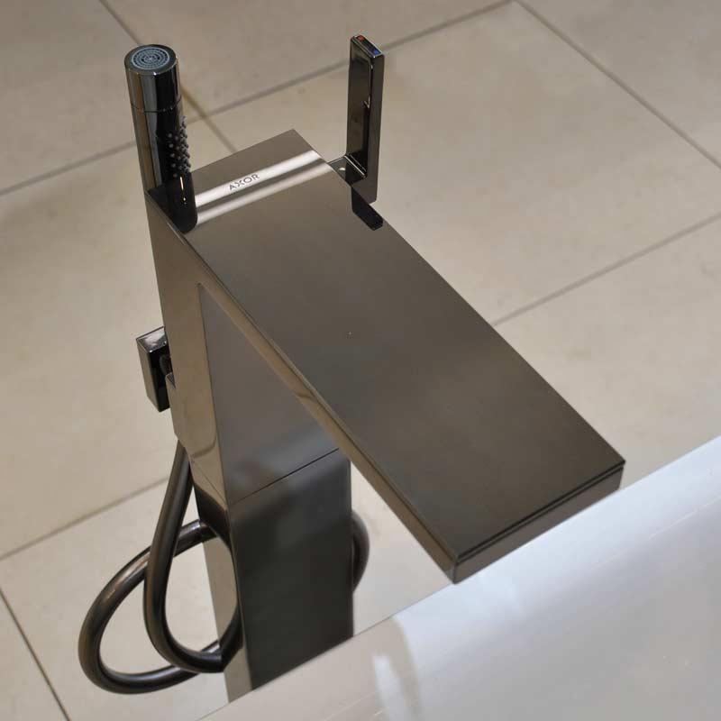 Axor-floor standing bathtub mixer