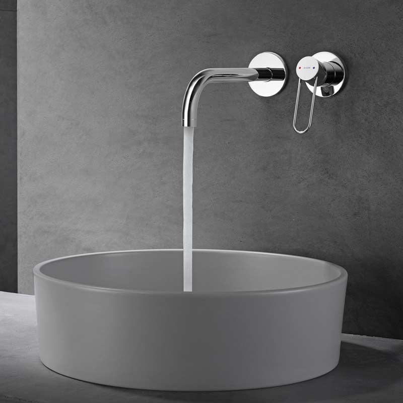 Axor Uno wall concealed mixer tap