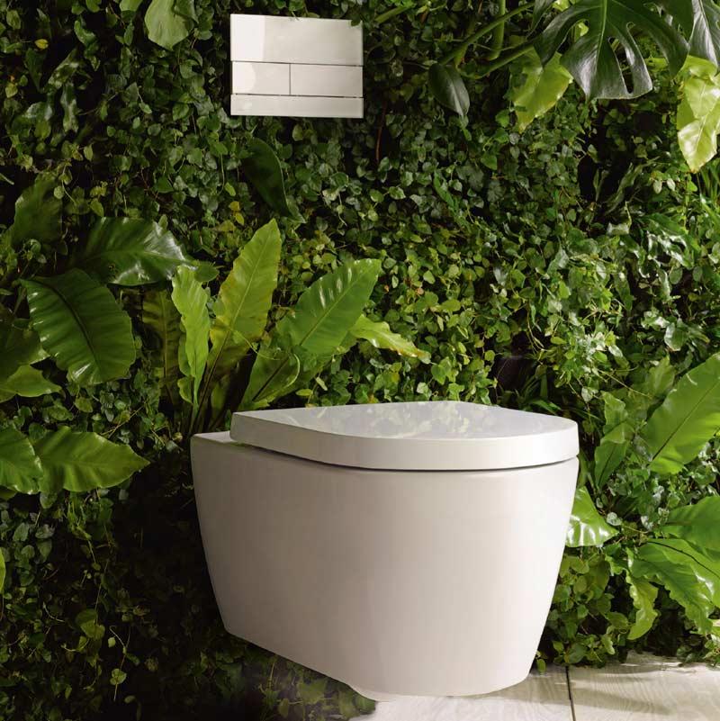Duravit Me by Starck Nature Teilmilieu WC Toilet