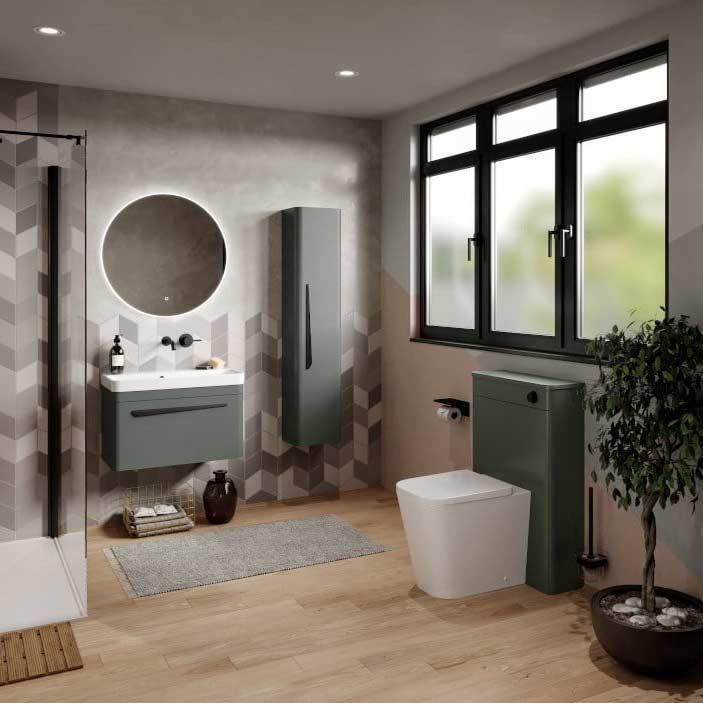 Saneux 002 Hyde Bathroom Furniture