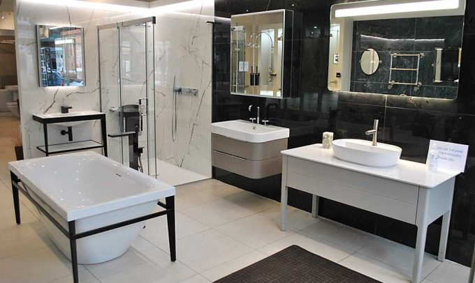Hampton Bathrooms showroom