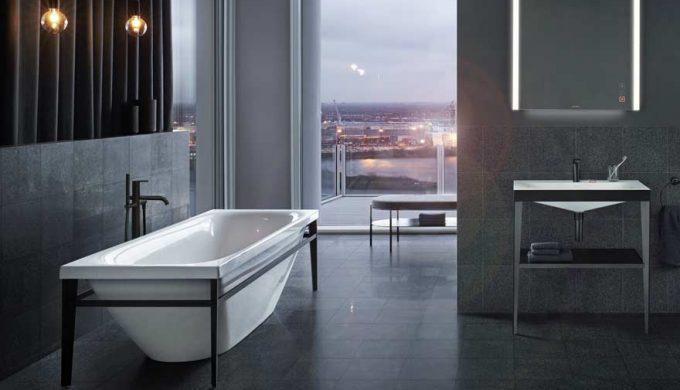 Free standing bath Duravit viu balkon