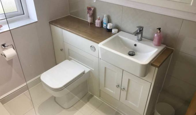 Hampton Bathrooms customer bathroom